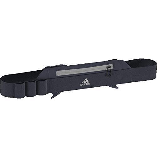 adidas Run Cinturón de Hidratación, Unisex Adulto, Azul (azutra/Negro/reflec), Talla Única