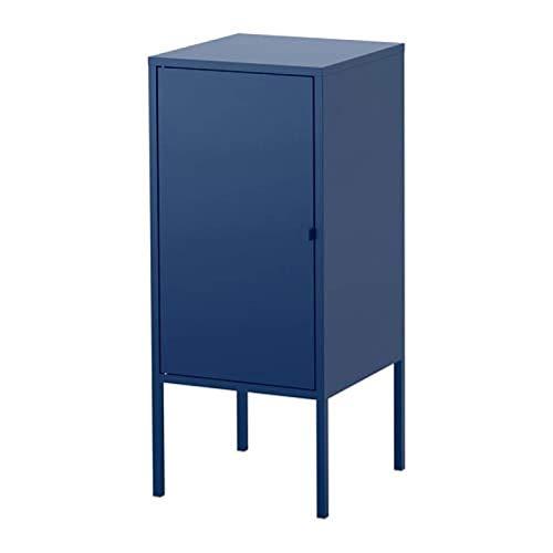 Ikea Lixhult kast metaal donkerblauw 303.964.29 Maat 13 3/4x23 5/8
