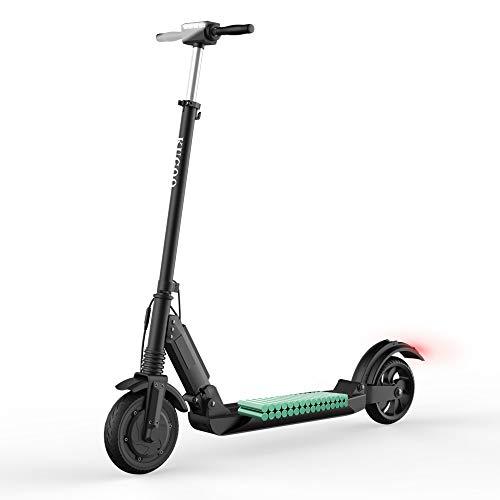 Kugoo Trottinette Electrique Scooter électrique Moteur de 350W Pliable et Réglable en Hauteur Vitesse jusqu'à 30km/h pour Ados et Mixte Adulte (Noir)