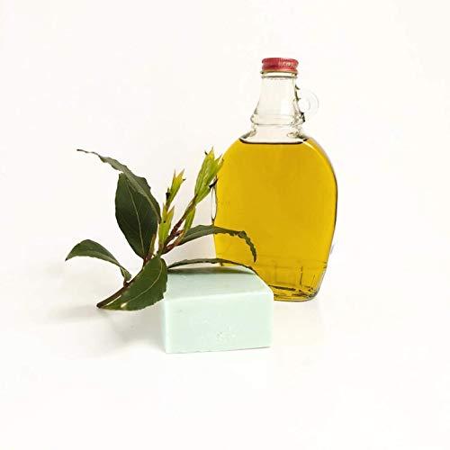 Jabón 100% artesanal de aceite de oliva puro, con aceite esencial de