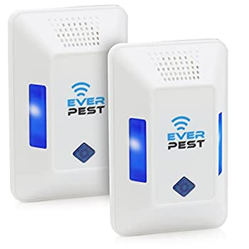 Ultrasonic Pest Repeller Plug in - Electronic Insect Control Defender 2Pack - Roach Bed Bug Mouse Rodent Mosquito Killer - Indoor Reject Repellent - for Cockroach Ants Mice Fly Rat Spider Squirrel