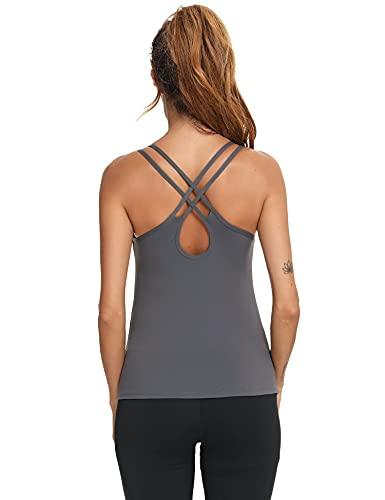 Sykooria Camisetas Tirantes Mujer Verano Camiseta sin Mangas para Mujer Camisetas Interiores...