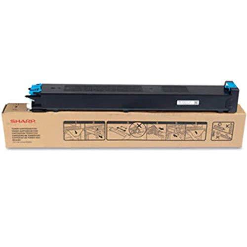 Sharp MX-23GTCA - Cartucho de tóner para impresoras láser, color Cyan