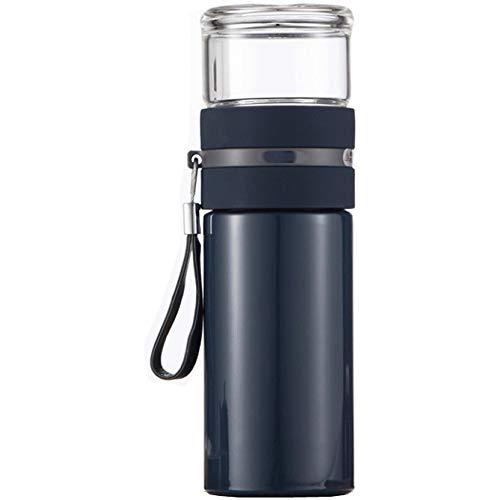 XHCWater Water flessen Outdoor creatieve roestvrijstalen beker, Met deksel handvat Travel Cup, Grote capaciteit Outdoor RVS Auto Mok