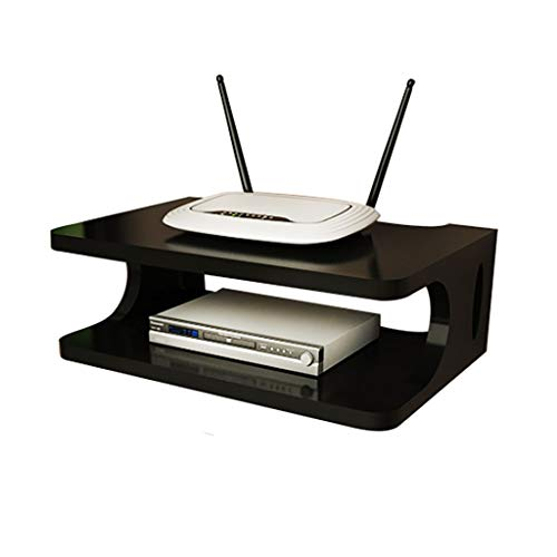 Set-Top Box Rack Router Router Box de Almacenamiento Player DVD Caja de...