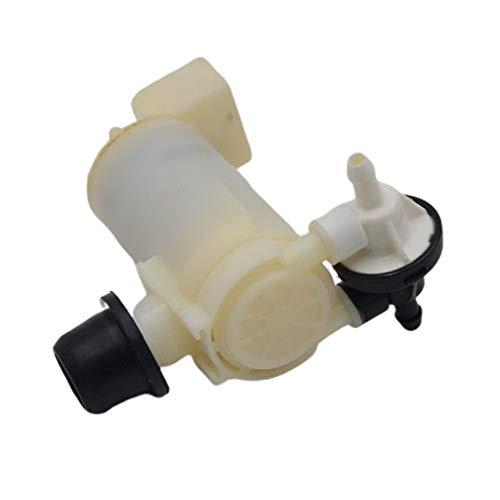 perfk 12V Universal Windschutzscheibe Waschwasserpumpe Wischwasserpump für Nissan X-Trail T31 10/07-2012
