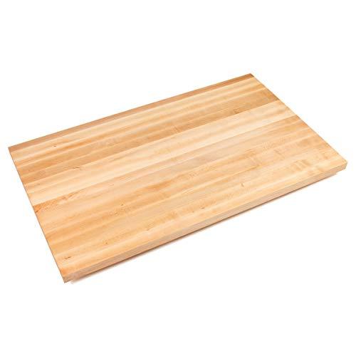 John Boos Edge-Grain Maple Butcher Block Countertop - 1-12 Thick 72 L x 30 W Oil Finish