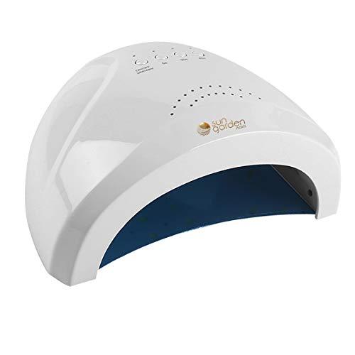 Sun1 - Lámpara UV LED (48 W, para gel, con sensor y temporizador, dispositivo de endurecimiento de luz para uñas