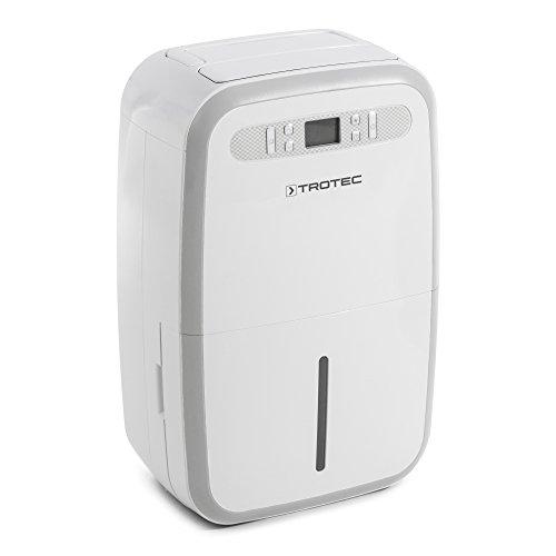TROTEC Komfort Luftentfeuchter TTK 95 E (max.30 L/Tag), geeignet für Räume bis 230 m³ / 90 m², Timer, 2 Gebläsestufen, Swing-Funktion, Überfüllungsschutz mit Autoabschaltung