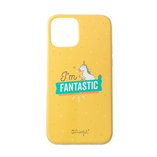 Mr. Wonderful Carcasa iPhone 12 Mini I´m Fantastic