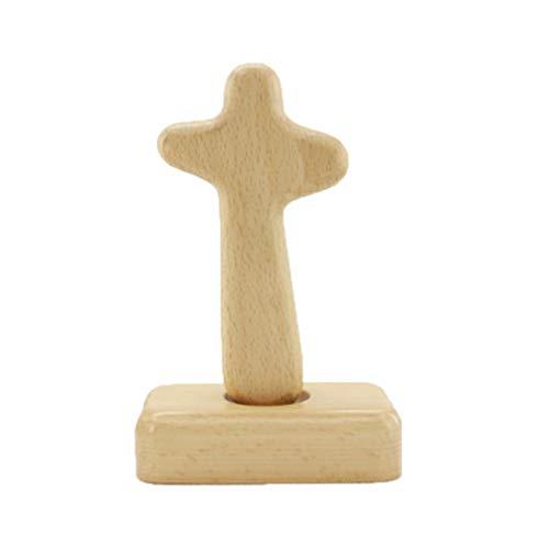 Garneck Holz Kreuz Ornament Figur Stehtisch Kreuz Home Dekoration