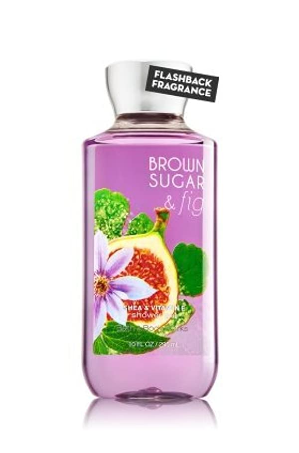 受動的休戦混合した【Bath&Body Works/バス&ボディワークス】 シャワージェル ブラウンシュガー&フィグ Shower Gel Brown Sugar & Fig 10 fl oz / 295 mL [並行輸入品]
