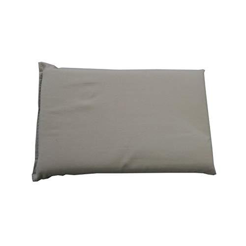 Elnapress Bügelkissen - Bügelhilfe Baumwollbezug gelb 20 x 12 cm (grau)
