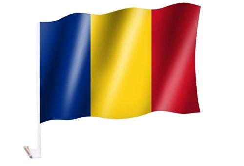 Autoflagge/Autofahne Rumänien