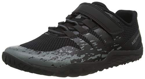 Merrell Unisex-Kinder Trail Glove 5 A/c Hallenschuhe, Schwarz (Black Black), 37 EU