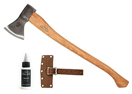 1844 Helko Werk Germany Hessen Woodworker Axe - Hand Forged Felling Axe Made in Germany 13563