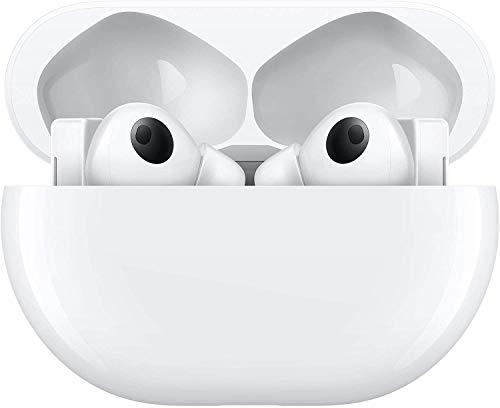 HUAWEI FreeBuds Pro Blanco - Auriculares inalámbricos Bluetooth con cancelación Inteligente de Ruido, Sistema de 3 micrófonos, Carga inalámbrica rápida, Pequeño miniatura
