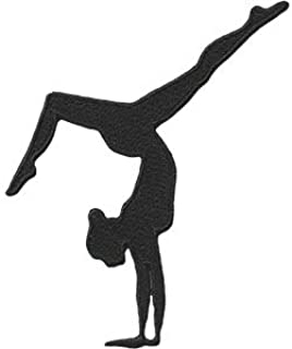SPORTS GYMNASTICS, Officially Licensed, Iron-On / Sew-On, Embroidered PATCH - 3.2