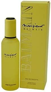 Monsieur Balmain By Pierre Balmain For Men. Eau De Toilette Spray 1.7 Ounces