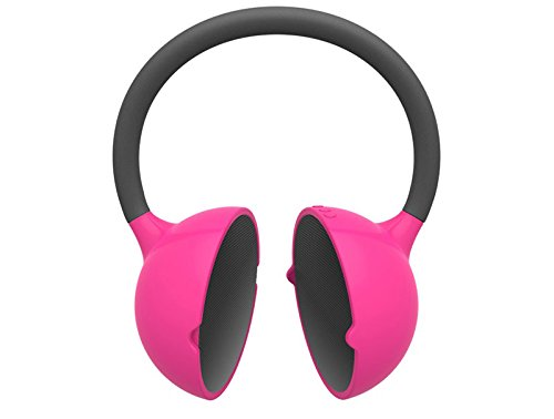 Yamazoki Moktak biegbarer Bluetooth Stereo-Lautsprecher (Bluetooth 3.0, NFC, 2X 3 Watt, Micro-USB) pink
