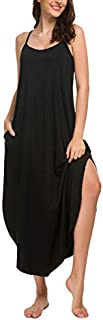 Image of AVIIER Soft Long Nightgown for Women - Available in More Colors