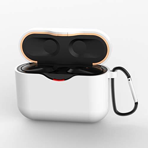 Estojo de silicone ibasenice compatível com Sony WF-1000XM3 – silicone à prova de poeira à prova de choque para fone de ouvido sem fio, capa protetora para fone de ouvido