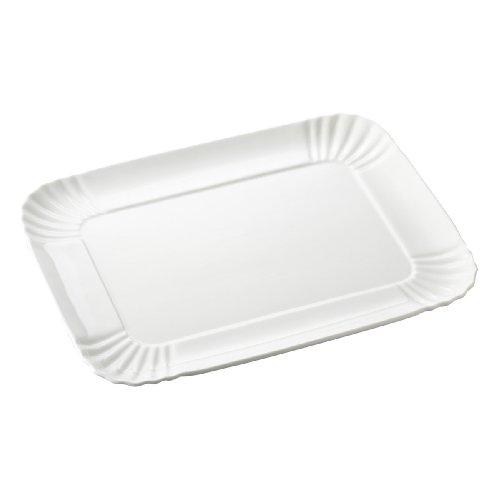 SELETTI – Plateau, Porcelaine, Blanc, 26 x 34 cm