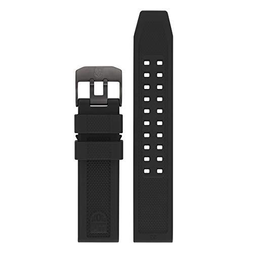 Luminox Men's 3050 Navy Seal Colormark Series Black Rubber Watch Band