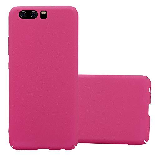 Cadorabo Funda para Huawei P10 en Frosty Rosa - Cubierta Protección de Plástico Duro Super Delgada e Inflexible con Antichoque - Case Cover Carcasa Protectora Ligera