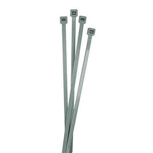 100x Kabelbinder 200 x 4,8mm silber ; Industriequalität