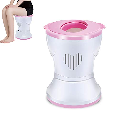 PYXZQW Steam Seat, Women Healthy Care Vaginal Steamer Chair, Far Infrared Steam Seat Herbal Evaporator,Fumigation Instrument Sitting Fumigation Instrument