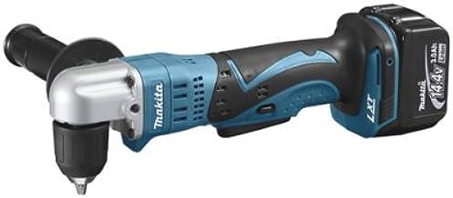 Makita DDA341RFJ drill Sin llave Negro, Azul 1,7 kg - Taladro eléctrico (1 cm, 2,5 cm, 2,5 m/s², 1700 RPM, Batería, Ión de litio)