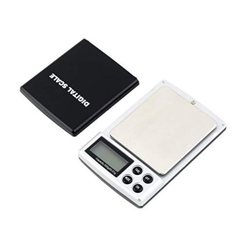 XIANGAI Auto Power Off 500g x 0.01g Mini Pocketable Bijoux Balance de Poche numérique Poids Échelle d'équilibre de précision avec Brillant rétro-éclairage