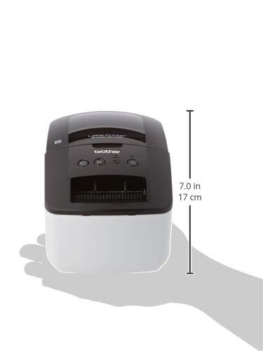 Brother QL700 - Impresora de etiquetas profesional con tecnología térmica directa (función 'Conectar y Etiquetar')