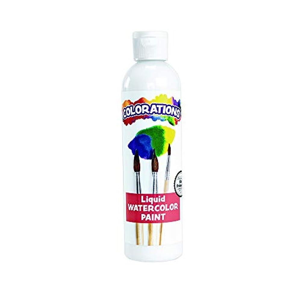 Colorations LWWH Liquid Watercolor Paint, White - 8 oz.