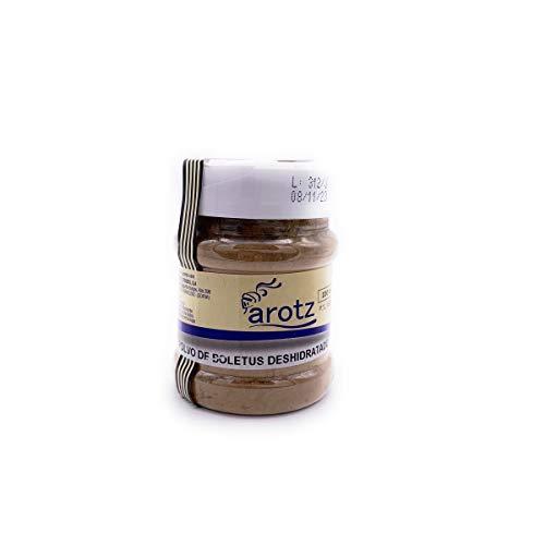 reines Steinpilzpulver von wilden Steinpilzen der Spitzenklasse aus Spanien - der 100% natürliche Geschmacksverstärker - 100 g mit Portionierer, Menge:1 Stück