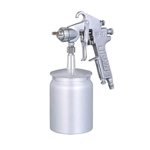 DX Spray Gun Gravity Feed Air,W71 is uitgerust met 1,5 Mm RVS mondstuk en 750 ML gieter voor auto