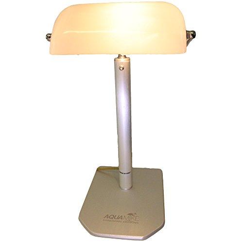 Aquamisch nachtkastje met lamp