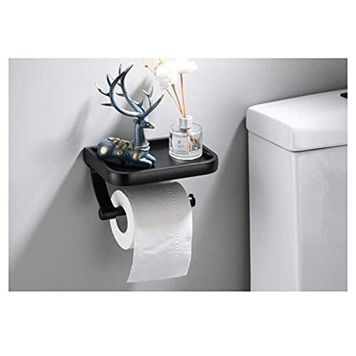 DealMux estante de baño portarrollos de papel higiénico portarrollos de papel higiénico caja de pañuelos de papel estante de pared 0805