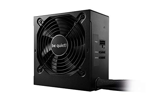 be quiet! System Power 9 ATX PC Netzteil 400W cm   BN300 schwarz mit Kabelmanagement