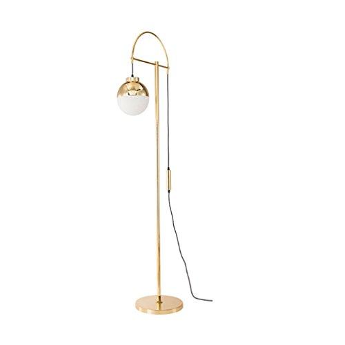 Unbekannt Lámpara de pie American Leek minimalista para salón, vestíbulo, decoración, lámpara de pie, dormitorio, estudio, lámpara de pie L126