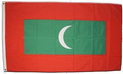 Malediven Flagge Fahne 90 * 150 cm