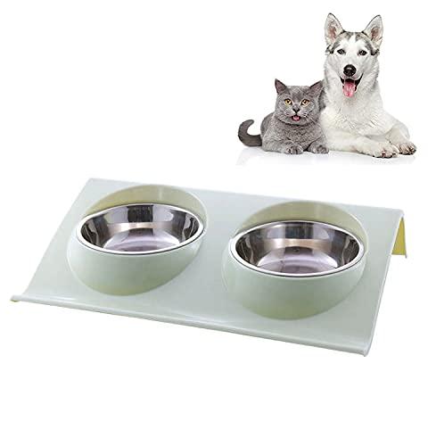 Gato Cuenco,tazones para Gatos Antivomitos,Tazón de Comida para Gatos Ajustable,Comederos Perros Gatos,Cuenco del Gato,Cuencos para Gatos,Tazón para Mascotas,Comedero Ergonomico Gato