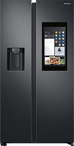 Samsung RS8000 Family Hub RS68N8941B1/EF Side-by-Side/A++ / 593 L/Premium Black Steel/Food Cam & Food Reminder/Phone & TV Mirroring