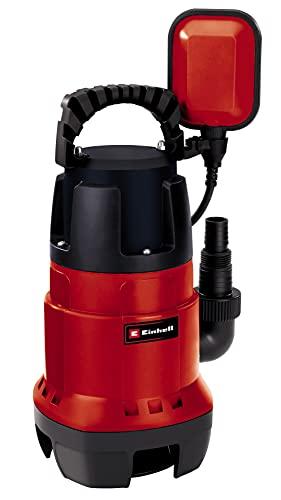 Bomba de agua (780W, capacidad de 15.700 l/h, profundidad max. de inversión 7m, conexión de manguera 47.8mm, cuerpos extraños hasta 35 mm, interruptor de flotador continuo)