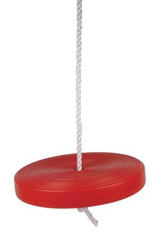 Equilibre et Aventure Balancoire ronde en plastique, légère et solide, à 1 point d'attache