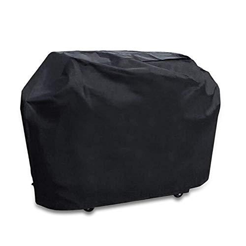 Funda para Barbacoa, Cubierta para Barbacoa Protector Impermeable Anti-UV 210D Oxford Tela Resistente al Agua Viento Nieve Polvo, BBQ Cubierta de la Parrilla con Cuerda de Bloqueo (145x61x117cm)