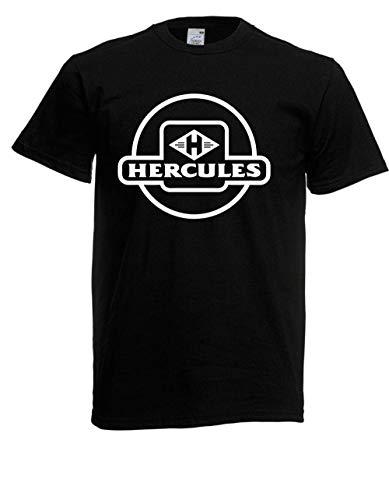 T-Shirt - Mofa Moped Hercules (Schwarz, XXL)
