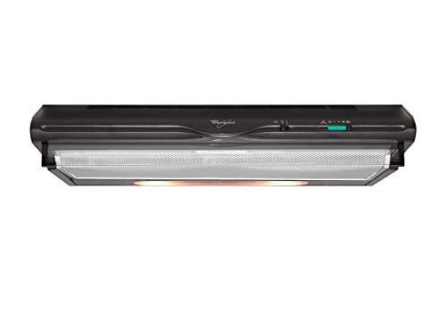 Hotte casquette Whirlpool AKR441/1NB - Hotte aspirante Casquette - largeur 60 cm - Débit d'air maximum (en m3/h) : 288 - Niveau sonore Décibel mini. / maxi. (en dBA) : 46 / 66
