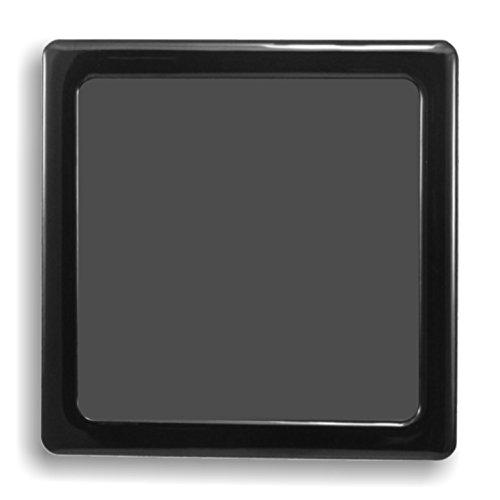 Demciflex Staubfilter für NZXT Phantom 410, unten, Rahmen schwarz, schwarz Mesh